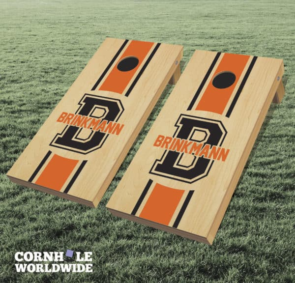 Personalized Name And Initial Cornhole Game